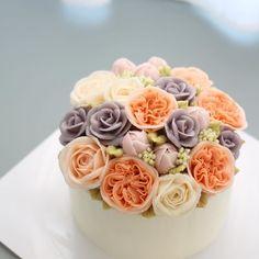 - 즐거운 명절 보내세요  - #flowercake #flowercakeclass #mydearcake #mydear #korea #wilton…