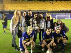 The boys in the Bombonera (Boca stadium)