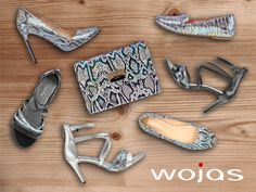 Dla wielbicieli motywów inspirowanych egzotyką marka Wojas poleca: sandały, lordsy, baleriny oraz czółenka.  Idealnym dodatkiem będzie również torebka z wężowym motywem. Zapraszamy do salonów firmowych Wojas i sklepu online na www.wojas.pl.