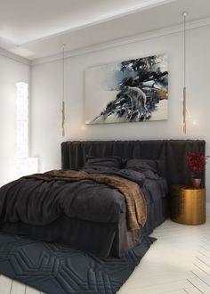 Scandinavian bedroom - Галерея 3ddd.ru