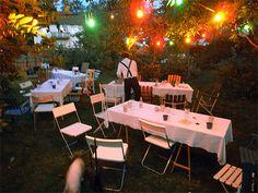 perfect backyard party