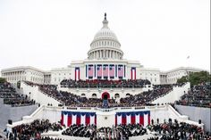 In this composite panoramic image, President Barack Obama delivers his inaugural address from the West Front of the U. Capitol during the inaugural swearing-in ceremony in Washington, D. (Official White House Photo by Lawrence Jackson) Barack Obama Family, Presidential Inauguration, Barack And Michelle, Panoramic Images, Sustainable Energy, Scene Photo, Climate Change, Sustainability, Behind The Scenes