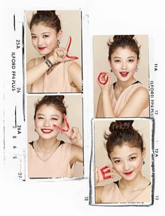 Kim Yoo Jung for Share Happiness pictorials from Elle Korea's December issue Young Actresses, Child Actresses, Korean Actresses, Korean Actors, Daniel Henney, Kim Yu-jeong, Kim Min, Kim Yoo Jung, Jung So Min