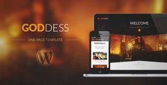 Download and review of Goddess - Multi Purpose & One Page Wordpress Theme, one of the best Themeforest Creatives themes