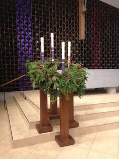 St. John Fisher advent wreath