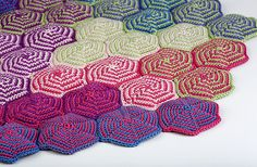Ravelry: Pinwheel Blanket pattern by Tanya Beliak