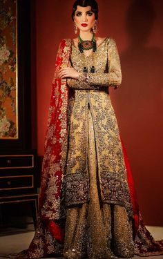 Tenna Durrani Bridals 2016 (Desi Bridal Shaadi Indian Pakistani Wedding Mehndi Walima Lehenga / #desibridal #indianbridal #pakistanibridal #saree #indianwedding #pakistaniwedding #desiwedding #wedding #shaadi #lehenga #bridal #mehndi #walima #bollywood)