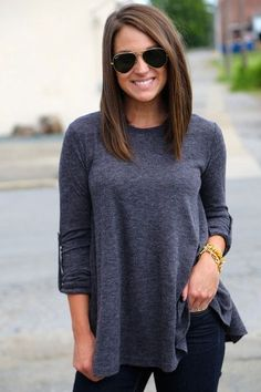 11. Simply Straight - Sick of Having Long Hair? Check out These Long Bob Inspos Now! → Hair