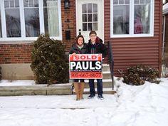 Congratulations Sam & Becca on your new home!!