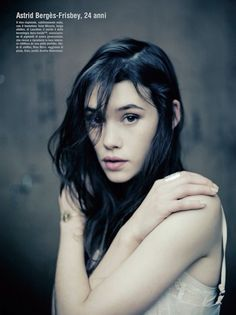 Photographer: Paolo Roversi Model: Astrid Berges-Frisbey Magazine: Vogue Italia Date: January, 2011