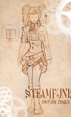 Steampunk air pirate couple! Yar! - CRAFTSTER CRAFT CHALLENGES