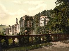 haddon hall england | ... of Bakewell in Derbyshire in England, United Kingdom of Great Britain