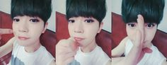 """160415 UP10TION Twitter Update  """"[ORIG] [#비토] 나 너에게 반했다~ #나한테만집중해  [TRANS] [#Bitto] I have fallen for you~ #Attention  """""""