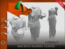 Statue Marble Ancient 5 impact Full perm