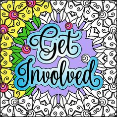 This coloring book download includes 12 original pages, designed with beautiful geometric patterns, swirls, mandalas, flowers, and leaves along with inspiring quotes, motivational slogans and empowering statements including:  She was warned. She was given an explanation. Nevertheless, she persisted. RESIST Divest Donald Trump Make America Think Again Overturn Citizens United We Will Not Go Back This Fight is Our Fight If you dont have a seat at the table, youre probably on the menu. Love…