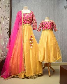 Mom Daughter Matching Outfits, Victorian, Dresses, Fashion, Vestidos, Moda, Fashion Styles, Dress, Fashion Illustrations