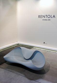 Salone Satellite 2013: Rentola easychair by Ryoma Eri