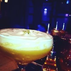 @Diplomatico blanco reserve • fresh passion fruit • citric acid • Kaffir bitters Foam of coconut and white cocolate