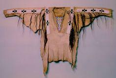Cheyenne shirt, mid 19th century.  DeYoung/Legion of Honor SF  ac