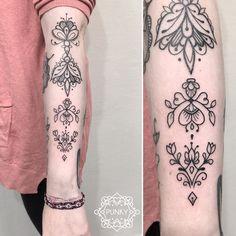 Ornemental tattoo