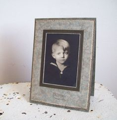 Antique photo little boy in sailor suit by MattiesMenagerie, $15.99