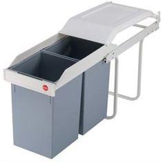 HAILO Multi-box 2x15 - Poubelle encastrable 30 L