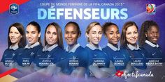 ... — queens-of-football:   France WNT Squad for the...