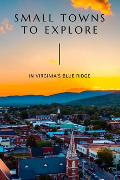 Great Small Towns to Explore in Virginia's Blue Ridge Appalachian Mountains, Appalachian Trail, Blue Ridge Mountains, Great Smoky Mountains, Craggy Gardens, Rocky Mount, North Carolina Mountains, Surfing Pictures, Shenandoah Valley