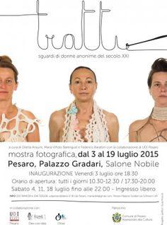 """Pesaro: """"Tratti. Sguardi di donne anonime del XXI secolo"""", mostra fotografica a Palazzo Gradari"""
