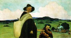 O cego, 1913. Óleo sobre lenzo. 113 x 200 cm. Colección Recreo Cultural da Estrada