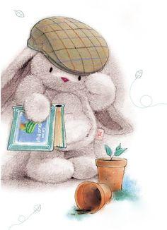 Walt the garden bunny...