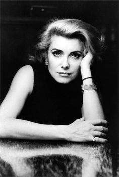 Catherine Deneuve, photographed by Alice Springs in Paris (1984)