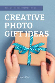 Christmas is coming but what do you buy the photographer?  Here are some creative photo gift ideas to find the best photo gifts for friends or family members who love to take photos
