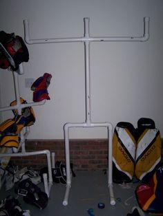 "DIY drying rack for gear (PVC pipe)  Google, ""Equipment Drying Rack for Dummies"""
