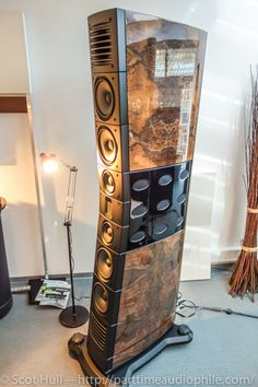 """Raidho """"D-5"""". I have listen to a Raidho bookshelf speakers, i was amazed ! (amplified by a Esoteric amp)."""