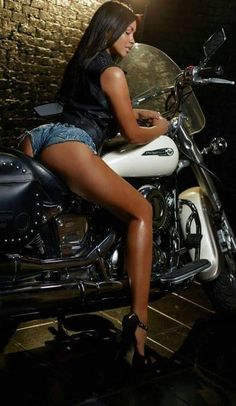 Motorcycles, Hot Babes, Cool Stuff