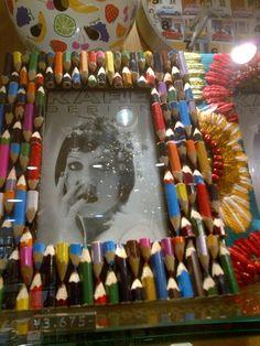 put your too-short-to-use colour pencils to good use! @ United Arrows, Futakotamagwa