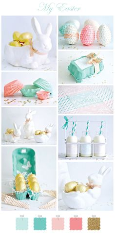 Gorgeous Easter inspiration with lots of DIY craft projects.