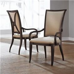 Thomasville Furniture Studio 455 upholstered Dining Chairs Set 6 $1499