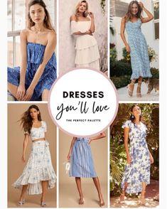 Bridesmaids, Bridesmaid Dresses, Prom Dresses, Summer Dresses, Formal Dresses, Wedding Dresses, Blue Weddings, Blue Dresses, Strapless Dress