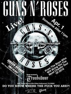 El regreso de Guns N' Roses y la Tecnología | elfuturoperfecto.com