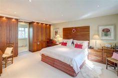 bright #wooden bedroom
