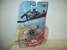 Disney Planes Jolly Dusty Crophopper Diecast Toy Plane Boys & Girls  4+ 2012 #Disney