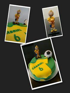 Bolo futebol #coisinhas da du