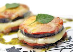 PANELATERAPIA - Blog de Culinária, Gastronomia e Receitas: Torre de Berinjela