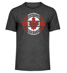 Wrestlingshirt Kanada T-Shirt Mens Tops, Fashion, Canada, Coat Racks, Cotton, Moda, Fashion Styles, Fasion