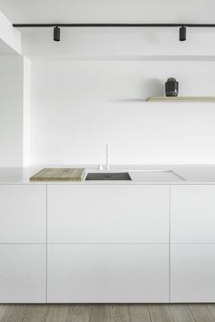 Aesence | Minimal Kitchen | White Kitchen Styling | Simplicity & Minimalism