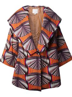 STELLA JEAN Structured Oversize Coat Latest African Fashion, African Prints, African fashion styles, African clothing, Nigerian style, Ghanaian fashion, African women dresses, African Bags, African shoes, Nigerian fashion, Ankara, Aso okè, Kenté, brocade etc ~DK