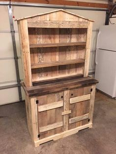 Hutch made from pallets