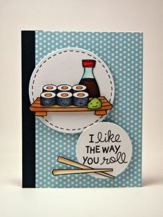 the Lawn Fawn blog: CHA Sneak Week 2014 - Let's Roll card by Yainea.